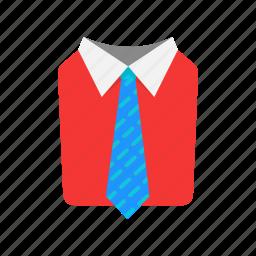 formal attire, men's attire, suit and tie, tie icon