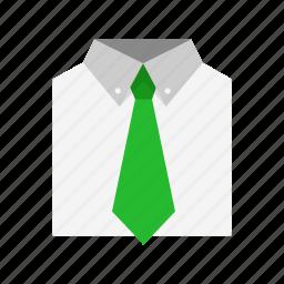 business men, men's attire, suit and tie, tie icon