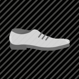 leather shoes, men's shoes, shoes, work shoe icon