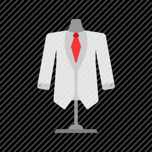 business men, formal attire, suit, tuxedo icon