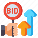 dynamic, auction, bid