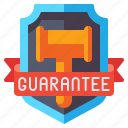 guarantee, certificate, label