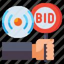 live, bidding, auction