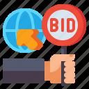 online, bidding, web, auction