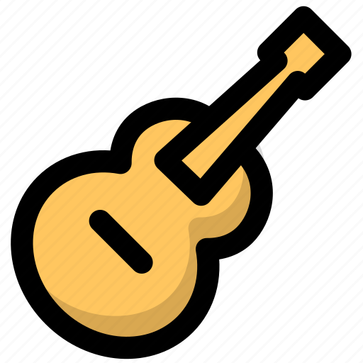 guitar, media, multimedia, music, musical, musical instruments, song icon