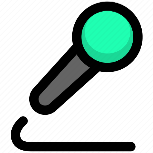 microphone, mike, receiver, receptor, transmitter icon