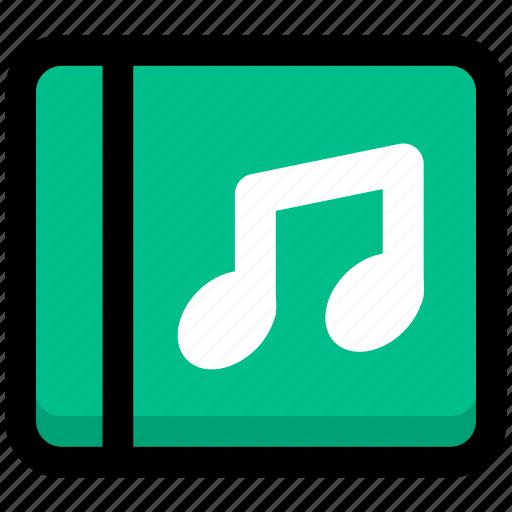 media, multimedia, music, music disc icon