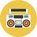 boombox, music, radio icon