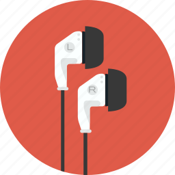 buds, earbuds, earplugs, listening, music, sound icon