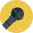 audio, mic, microphone, sound icon