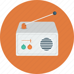 music, radio, sound, transmission icon