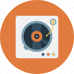 music, vinyl, vinyl player, vinylrecord icon