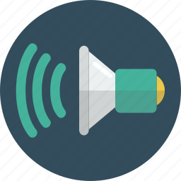 audio, sound, volume icon