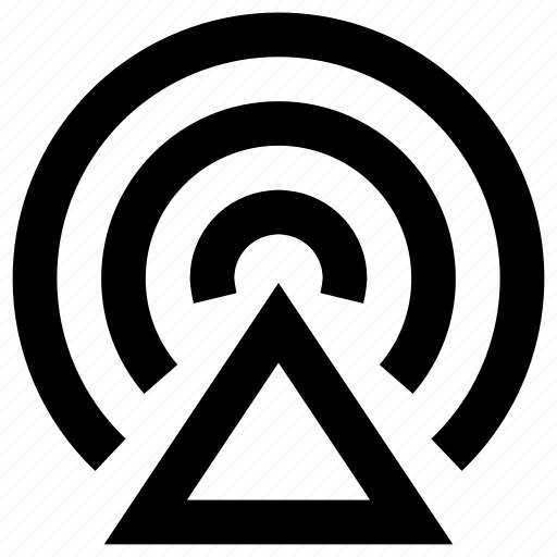 audio, communication, connection, radio, signal, sound, streaming icon