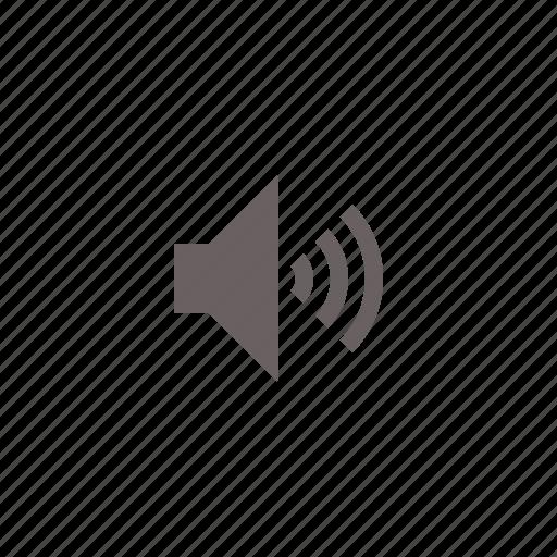 audio, high, volume icon
