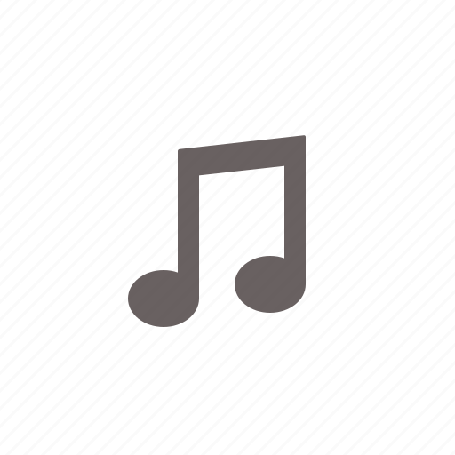 audio, entertainment, music, note icon
