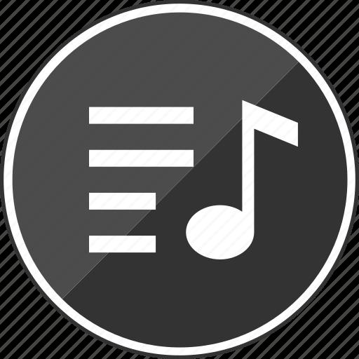 audio, line, music, option, setup icon