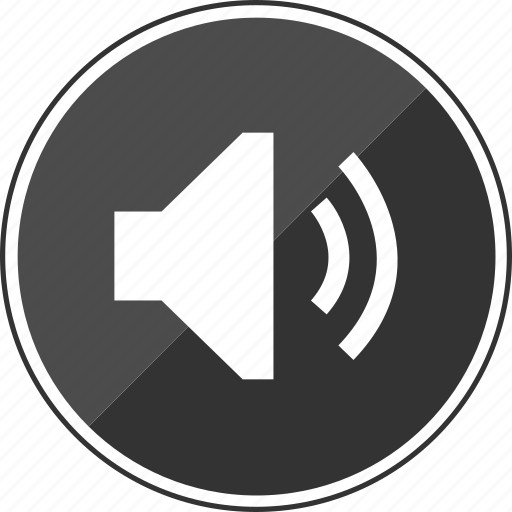 audio, loud, music, on, volume icon