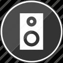 audio, beat, djmixer, mix, music, speaker icon