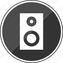audio, beat, djmixer, mix, music, speaker icon