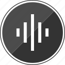 beat, equalizer, lines, stream, streaming