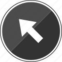 arrow, click, point, pointer icon