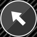 arrow, click, point, pointer icon