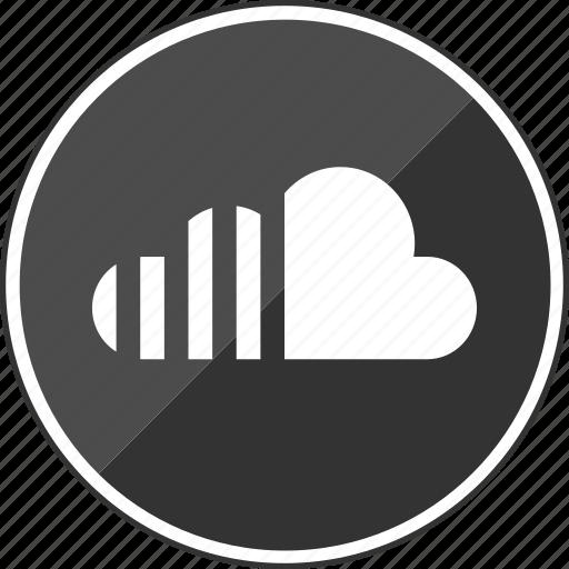 audio, cloud, stream, streaming, upload icon