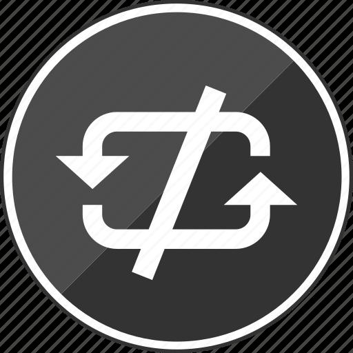 denied, loop, looping, no, stop icon