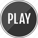 audio, listen, music, play, player icon
