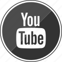 audio, play, tube, video, you, youtube icon