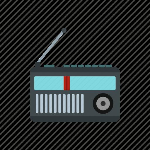audio, broadcast, music, radio, retro, sound, station icon