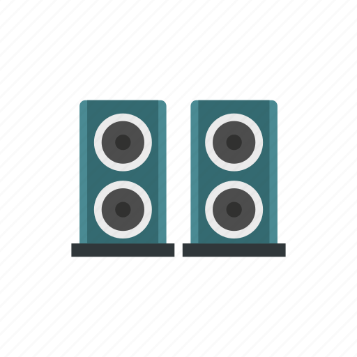 amplifier, audio, bass, electronic, music, sound, speaker icon