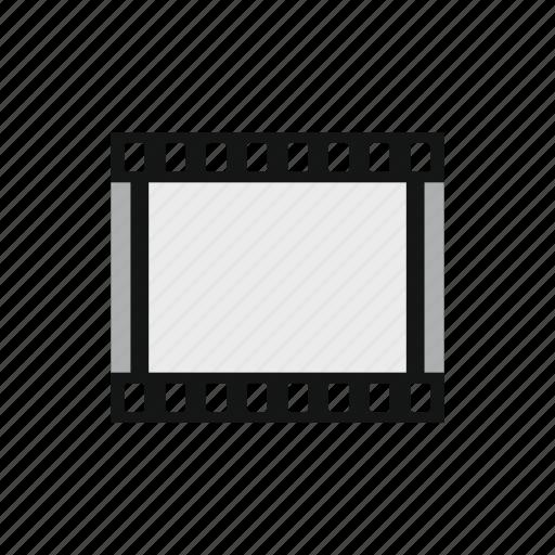 border, film, frame, negative, picture, slide, strip icon