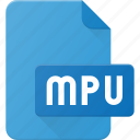 audio, file, mpu, music, playlist, sound icon