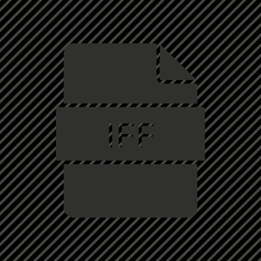 iff, iff file, iff logo, interchange file format icon