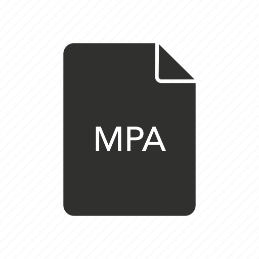 mpa, mpeg - 2 audio file, music, music file icon