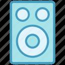 audio, loud, multimedia, sound, speaker, woofer icon