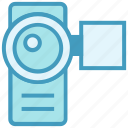 camcorder, camera, handy cam, video camera, video recorder icon