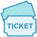 cinema, event, film, movie, ticket icon