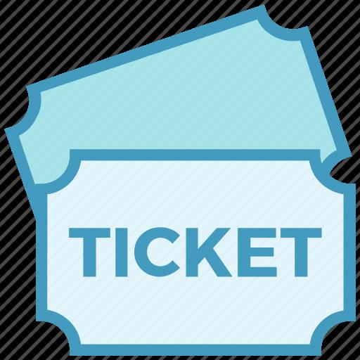 cinema, event, film, movie, ticket icon