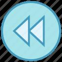 audio control, button, fast forward, media control, multimedia, round