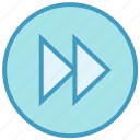 audio control, button, media control, multimedia, previous track, round