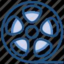 film, movie, multimedia, reel, video icon
