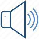 full volume, multimedia, music, music sound, speaker icon