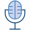 mic, microphone, multimedia, music, song icon