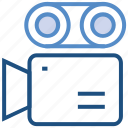 camera, film, movie, shooting camera, video camera icon