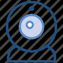 camera, multimedia, stream, video, web camera, webcam icon