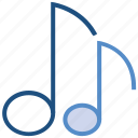 multimedia, music, music note, note, song, sound icon