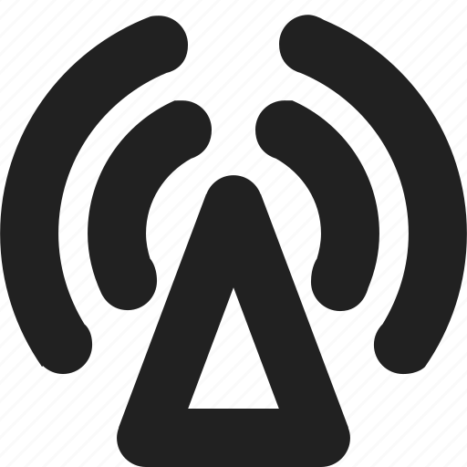 radio, transmitter icon